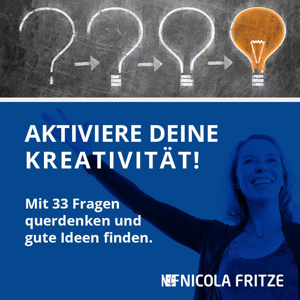 Nicola Fritze – Aktiviere deine Kreativität!