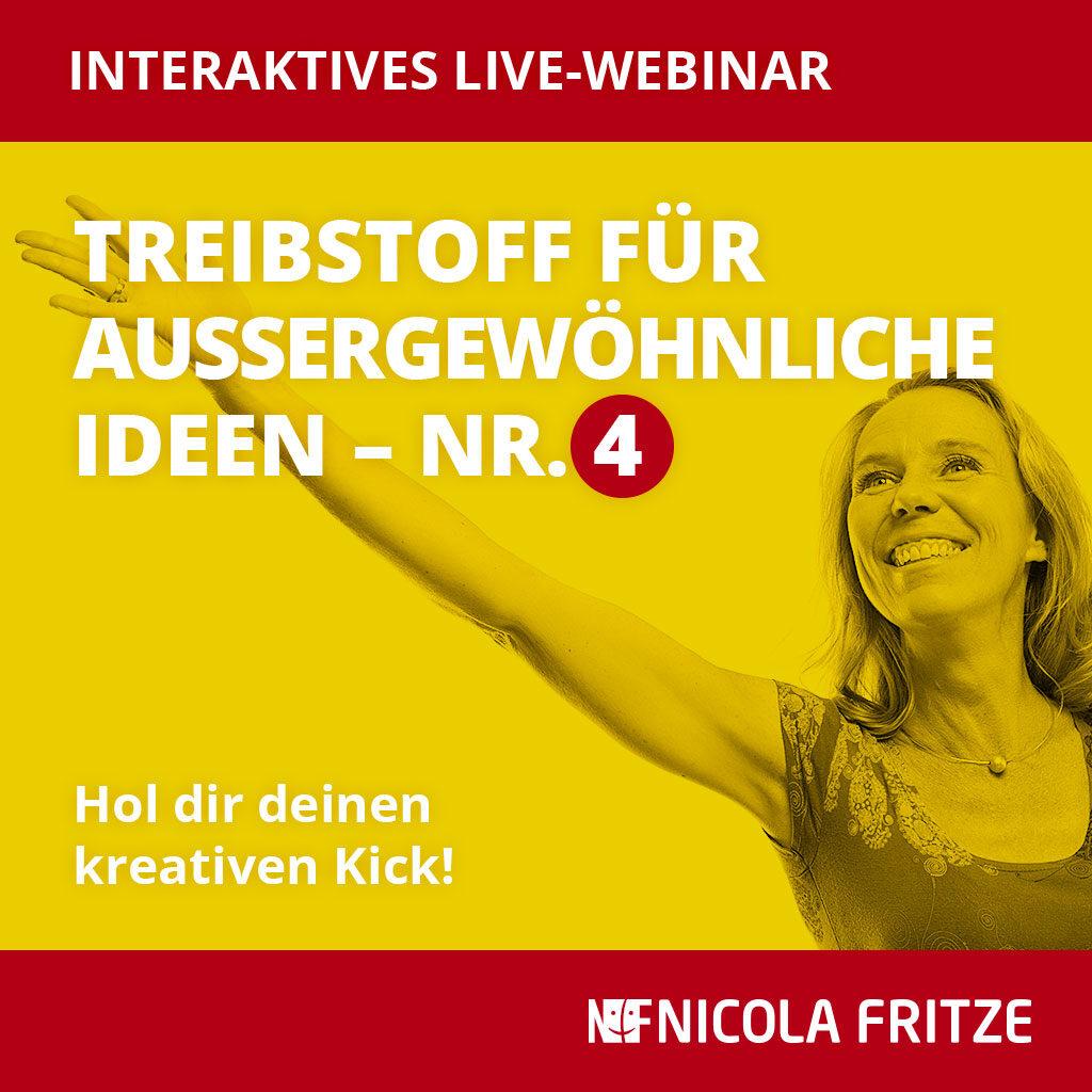 Nicola Fritze – Treibstoff für außergewöhnliche Ideen Nr. 4