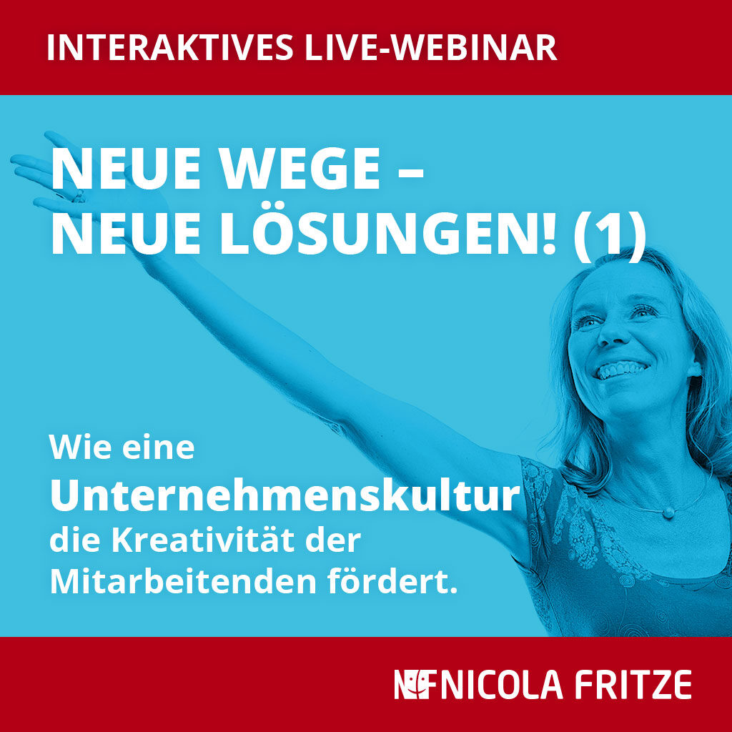 Nicola Fritze: Neue Wege – neue Lösungen (1)
